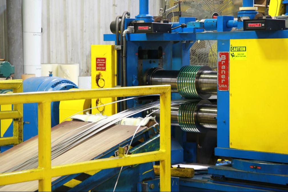 Stainless steel slitting company in Oklahoma City, Oklahoma