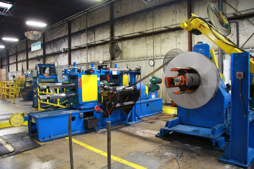 Stainless steel slitting company in Rochester, New York