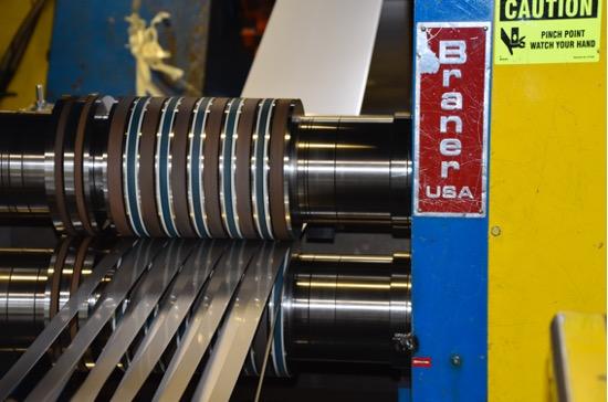 Stainless steel slitting company in Salt Lake City, Utah